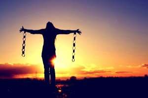 It sure feels good to break free. Especially out in the open air at sunset.